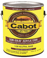 Cabot Semi-Solid Acrylic Stain