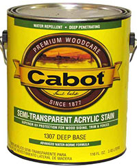 Cabpt Semi-Transparent Acrylic Stain