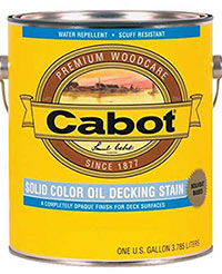 Cabot Solid Color Oil Decking Stain