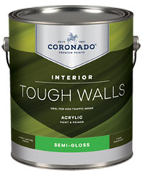 Coronado Tough Walls paint & primer