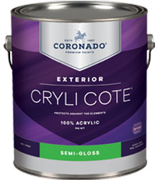 a can of Coronado Crylicote paint