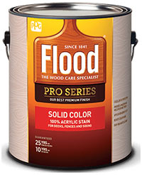 Flood Solid Color Acrylic Stain