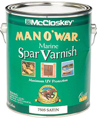 McCloskey Man O'War Marine Spar Varnish