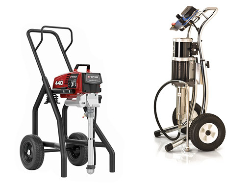 Titan & Graco paint sprayers