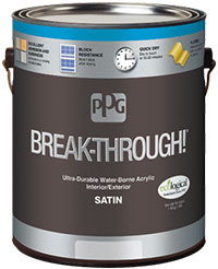 PPG Break-Through! Interior/Exterior Paint