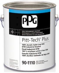 ppg pitt-tech_dtm_primer-finish_industrial_enamel
