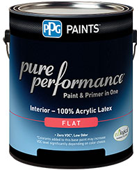 PPG Pure Performance interior paint & primer