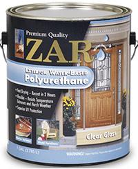 Zar Exterior Water-Based Polyurethane