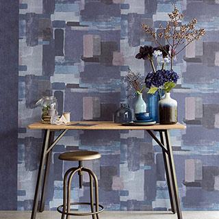 vignette of wallpaper pattern