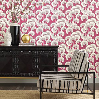 vignette of wallpaper pattern